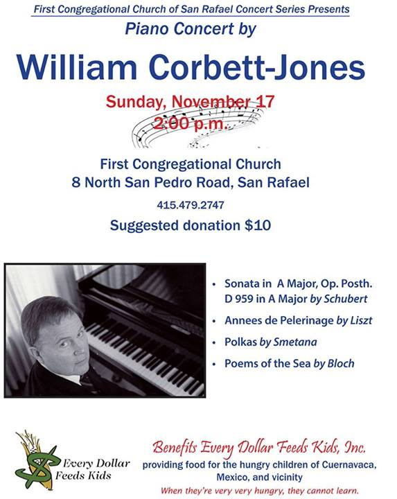 William Corbett-Jones Concert: Nov. 17, 2013